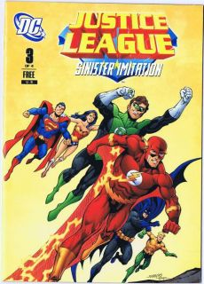 2011 General Mills Cereal Justice League 3 Mini Comic Giveaway Promo