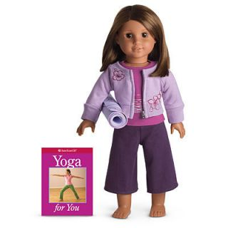 AMERICAN GIRL YOGA GEAR OUTFIT Genuine Authentic Real Exercise Doll