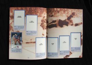 NHL *BOBBY ORR/WAYNE GRETZKY/GORDIE HOWE/MARIO LEMIEUX 1989 ESSO MINT