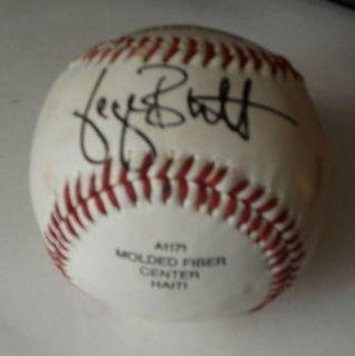 Vintage George Brett Autographed Baseball