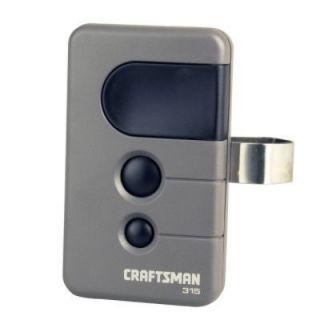 NEW CRAFTSMAN Garage Door Opener Remote Control BLACK BUTTON 139 53753