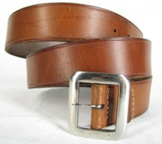 15 George Lawrence Gun Rig Holster Leather Belt Creel 38 40 XL