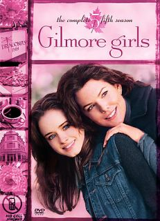 Gilmore Girls The Complete Fifth Season DVD 2005 6 Disc Set