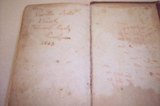 george evans anna mary keiner family bible