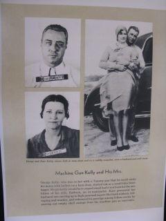 GEORGE MACHINE GUN KELLY AND WIFE KATHRYN 1930s CRIME GANGSTER BIG