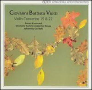Viotti Giovanni Battista Viotti Violin Concertos 19 22 New CD