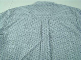 Western George Strait Cowboy MGS494 long sleeve shirt Sz M L XL 4X
