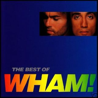 Wham Best of CD George Michael 80s Pop Dance New