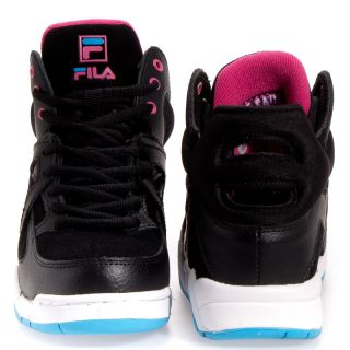 Fila Vintage Cage Synthetic Basketball Boy Girls Kids Shoes