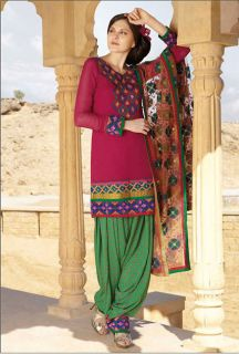 Indian Pakistani Bollywood Designer Salwar Kameez Material Dress Suit