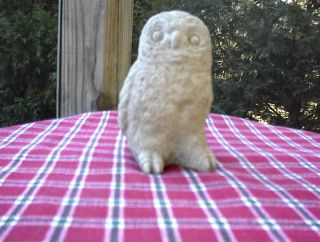 New Concrete Owl Bird Statue Garden Lawn Home Decor Art
