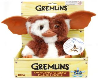 Gizmo Gremlins Singing Dancing Plush New in Box