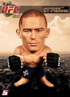 Georges St Pierre Round 5 UFC Series 1 Titans Vinyl Action Figure Toy
