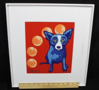 Artist Proof *George Rodrigue* Silkscreen Serigraph *Blue Dog* Print