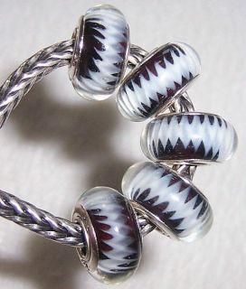Handmade Murano Glass Bead Fit European Charm Bracelet A135