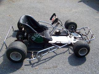 Vintage Racing Go Kart Dual Engine Chassis