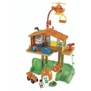 Fisher Price Go Diego Go Animal Rescue Track Talking Rescue Center