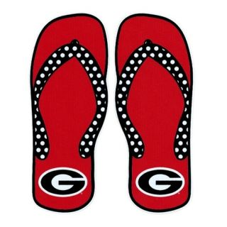 Georgia Bulldogs Flip Flop Decal