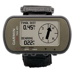 Garmin Foretrex 401 Waterproof Hiking GPS Wrist Watch