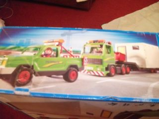 Playmobil 4084 Construction Super Set Boxed Includes Crane Lorry Pick