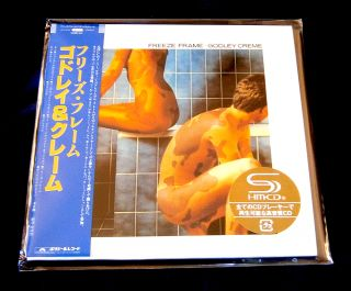 Godley Creme Freeze Frame JAPAN SHM MINI LP CD NEW OUT OF PRINT UICY