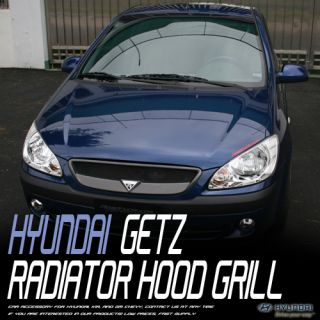 New Front Radiator Hood Grill for 06 11 Hyundai Getz