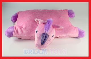 19 5 Unicorn Plush Pet Pillow Cuddlee Large Size New