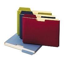 10 Pack Globe Weis Colored File Folder Pocket