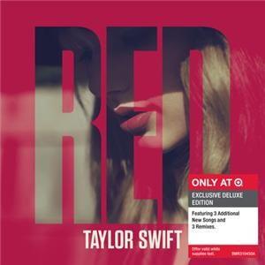 TAYLOR SWIFT RED CD BONUS TRACKS  Songs + Remixes (EXCLUSIVE DELUXE