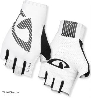 Giro LTZ Mitts 2012 Half Fingers Gloves Road Cycling Black White