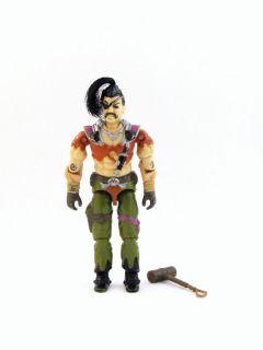 Cobra Zanzibar Dreadnok Pirate with Hammer GIJOE Action Figure Toy