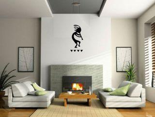 Wall Art Decor Kokopelli Glyph Symbol Sticker Southwest Design