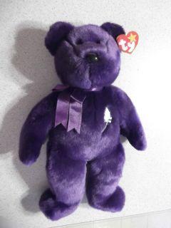 Princess Diana Bear Beanie Baby PE