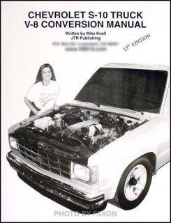 GMC S15 V8 Conversion Manual 1988 1989 1990 1991 1992 93 Blazer Jimmy