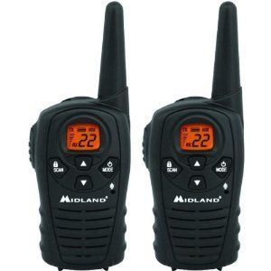 NEW Midland XT20 22 Channel GMRS Radio 2 two way Hands free eVOX water