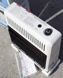 Procom 20K BTU Natural Gas Wall Heater Vent Free Tstat