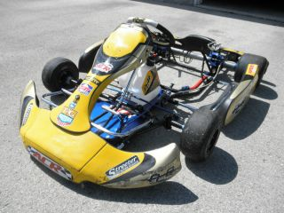 Used 2011 PCR MXK8 Racing Go Kart Chassis Roller