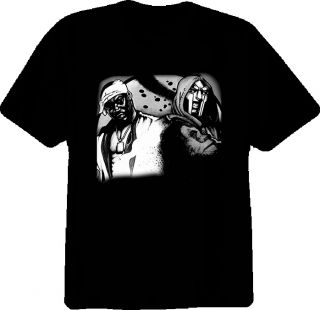 Ghostface Meets MF Doom Hip Hop Rap T Shirt