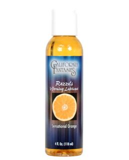 Massage Lotion Oil Flavored Personal Sex Lube Orange 4 Oz