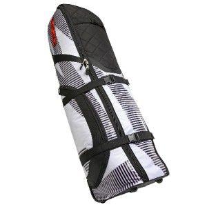 New 2012 Ogio Yeti Travel Golf Bag White Stripes
