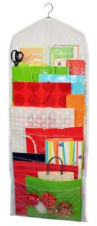 Jokari Gift Bag Organizer Hanging Wall Paper Gift Wrap Storage Brand