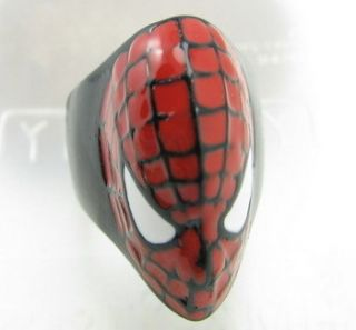 Spider Men Alloy Ring Unique Classic Mens Rings Girls Jewelry New