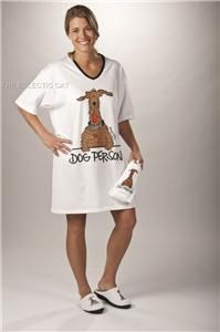 Cat Person Nightshirt in A Bag Womens Pajamas Pet Lover
