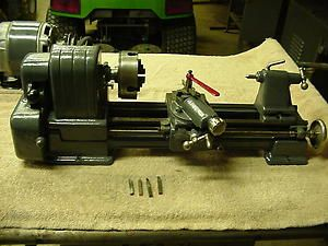 Vintage  Roebuck Craftsman Metal Lathe Model 109 20630 Threading
