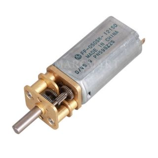 12V 300RP High Torque Small Electric Replacement Gear Box Motor
