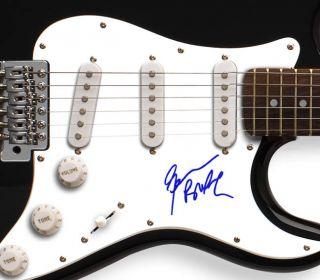 Black Sabbath Geezer Butler Autographed Signed Guitar PSA DNA UACC RD
