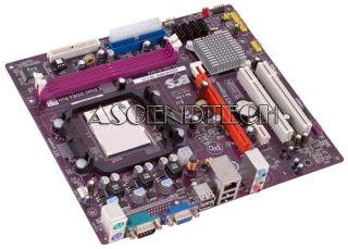 ECS GEFORCE6100PM M2 V3 0 AM3 DDR2 GeForce 6150 SATA2 VGA Phenom II
