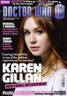 Doctor Who Magazine 453 Karen Gillan Final Interview