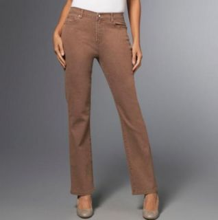 DG2 Diane Gilman Stretch Boot Cut Jeans Concho Rivets Sz 2 Tall Lt