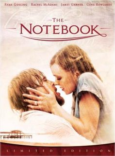 The Notebook Limited Edition Gift Set Boxse New DVD